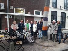 De Eindhovense Bergstraat is nu de breistraat