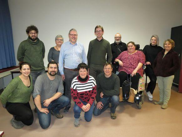 De nieuwe ploeg van Groen Torhout.