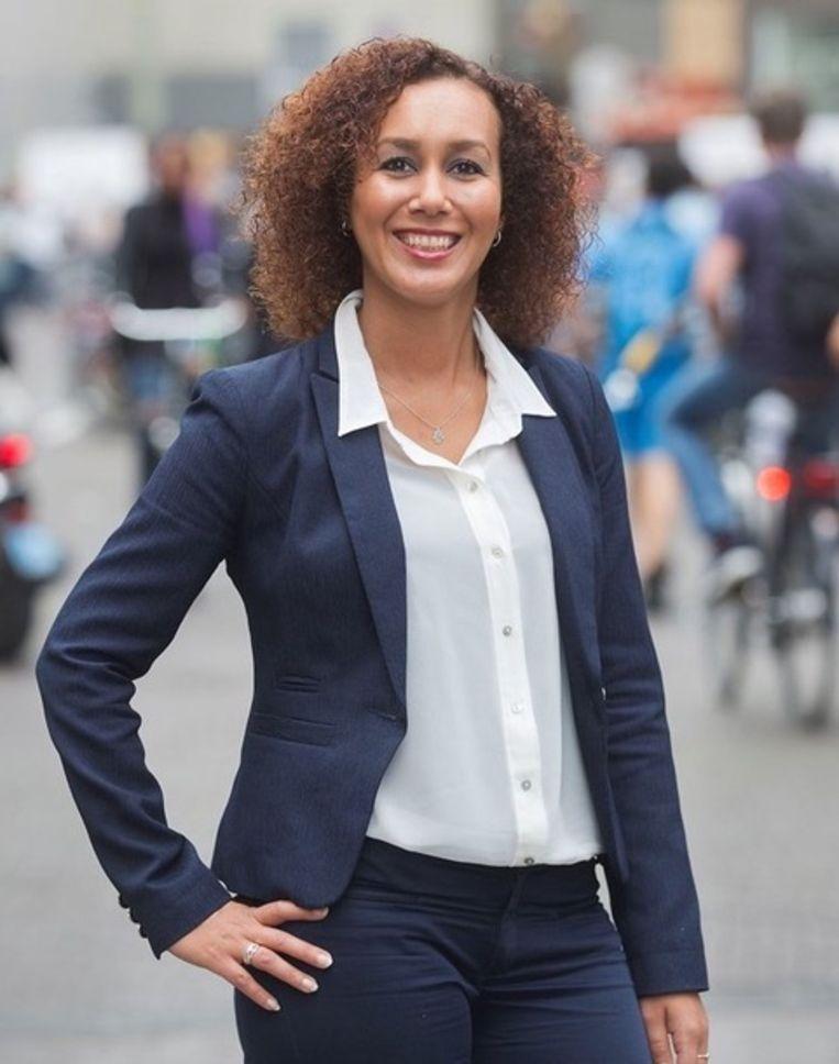 Fatima Akchar, eigenaar Rolmodellen Bureau Beeld