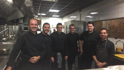 Griekse chefs op stage in Apriori