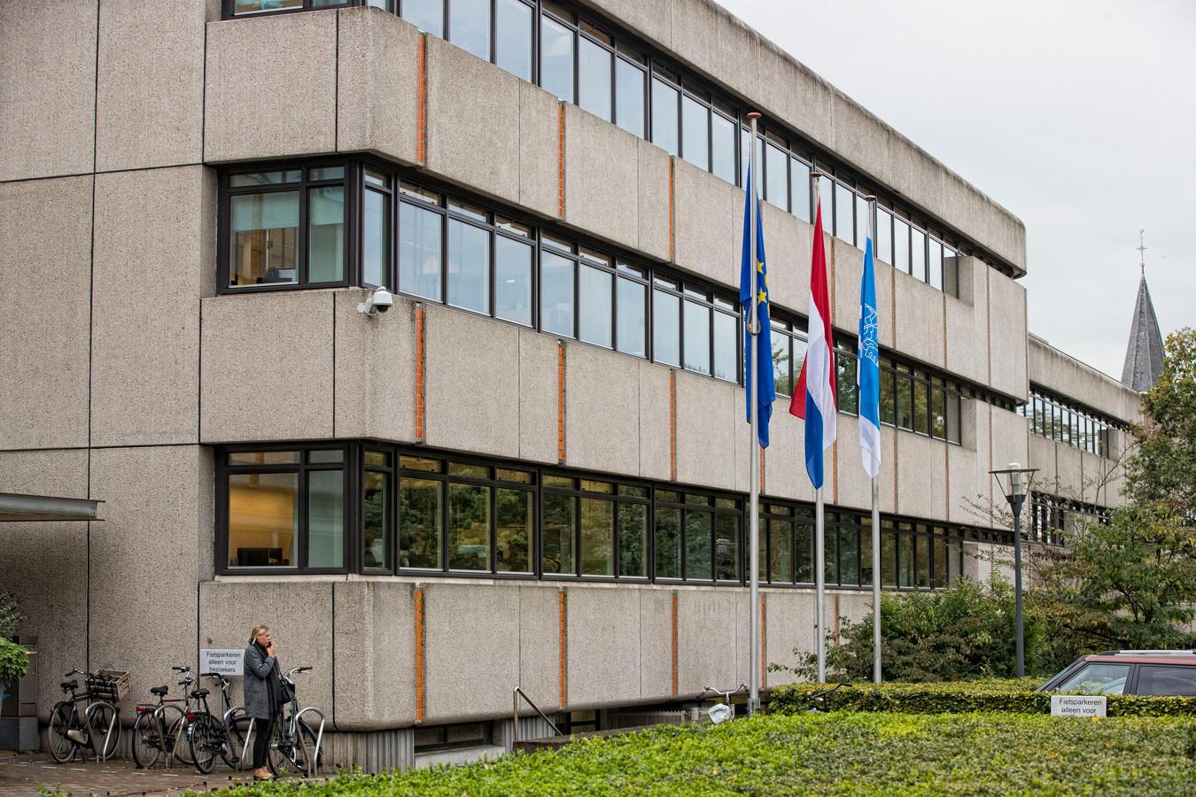 Het gemeentehuis van Ede.