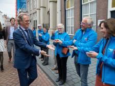 Bossche Blauwe Engelen testen gastvrijheid in Eindhoven