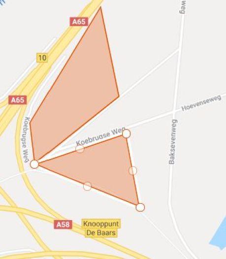 Plan voor zonnepark in Moerenburg-Koningshoeven, tussen snelwegen in