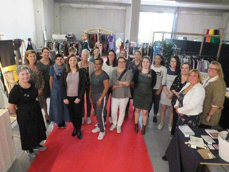 De ondernemers van de eerste Mercado in Driespoort Shopping Deinze.