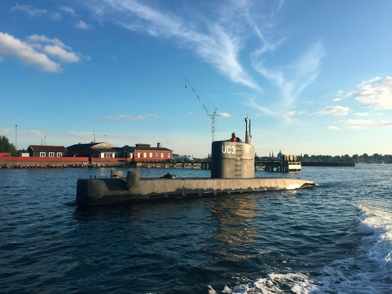 De zelfgebouwde onderzeeboot UC3 Nautilus Beeld anp
