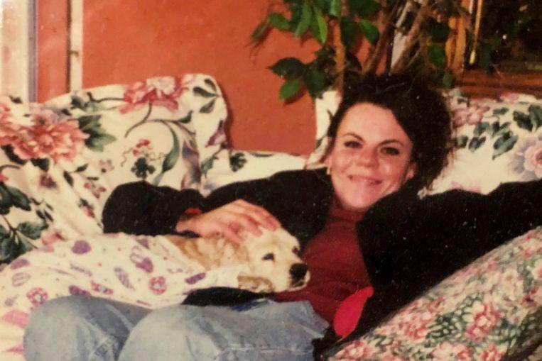 Melanie Billhartz, hier op een foto uit 1999, werd door Justen Hall in oktober 2002 gewurgd.