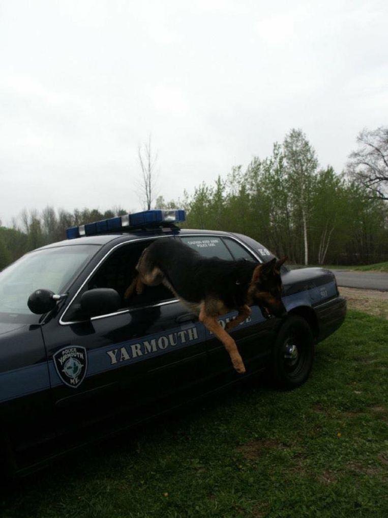 Sutlan in actie tijdens zijn politiecarrière