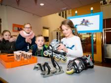 Schaatskoorts in Papendrecht: nog even een paar schaatsen regelen