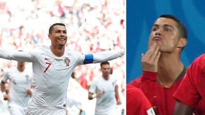In het spoor van 'De Zwarte Parel' en een sluwe sneer naar Messi: Ronaldo is op en naast het veld helemaal 'on fire'