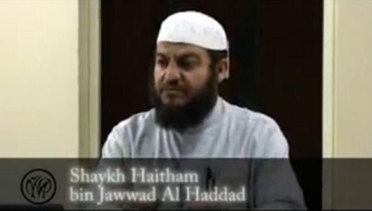 Sheik Haitham al-Haddad Videostill van YouTube Beeld