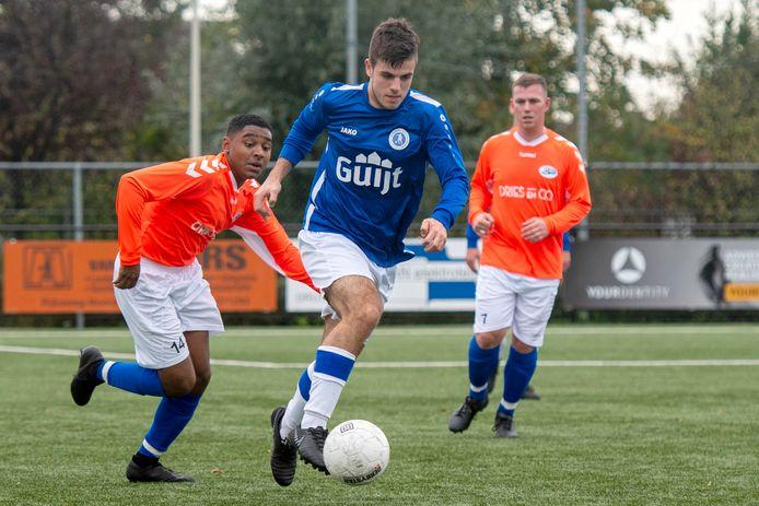 Elistha - SC Valburg; ondanks een verzoek van Elistha dit seizoen niet op de agenda.