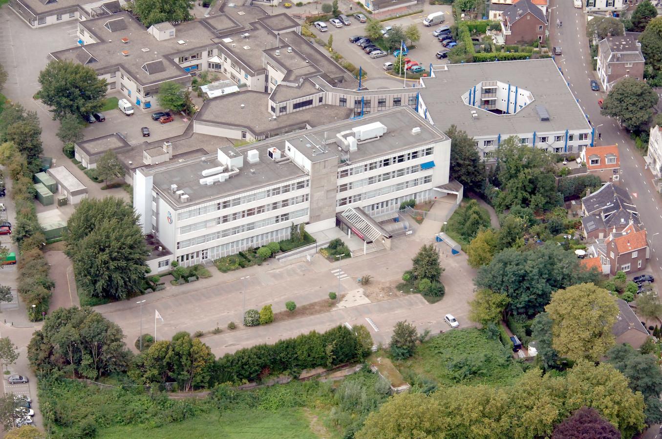 Het voormalige ziekenhuis in Sliedrecht.