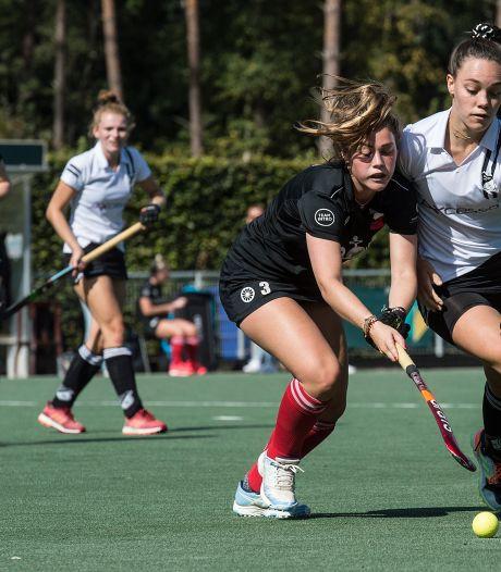 Hockeysters Zwart-Wit steviger aan kop, Breda-mannen in doelpuntrijk duel onderuit