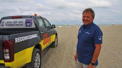 """Franky (61) bezig met 32ste en laatste zomer als hoofdredder: """"Met klein bootje nog surfer gered bij 9 Beaufort"""""""