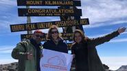 Prinses Esmeralda aan de top: halfzus van koning Albert beklimt de Kilimanjaro