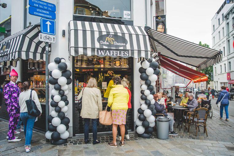 Dolce Banana in de Veldstraat.
