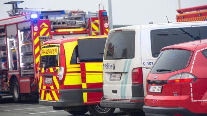 Brandweer rukt uit voor smeulende balk in woning
