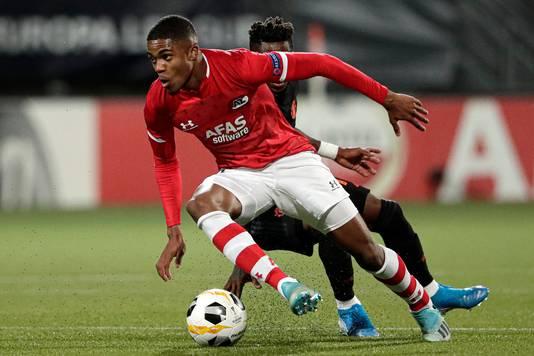 Myron Boadu kan zijn debuut gaan maken voor Jong Oranje.