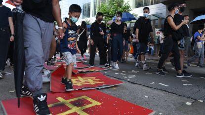 Sinds de start van protest in Hongkong werden 750 kinderen gearresteerd