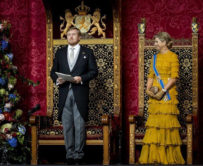 Dit ziet Floris Müller liever niet: het koningspaar in vol ornaat op Prinsjesdag.