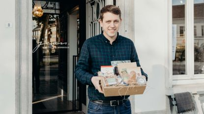 Jean brengt lokale delicatessen samen in 'Made in Lokeren'-geschenkmand