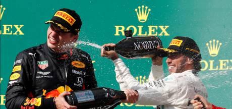 Hamilton geniet van strijd: 'Max reed geweldig'