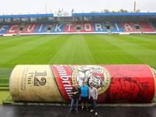 Reserves Viktoria Plzen zitten voortaan in een 'blikje' bier