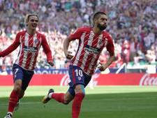 Atlético pakt tweede plaats af van Sevilla na winst in topper