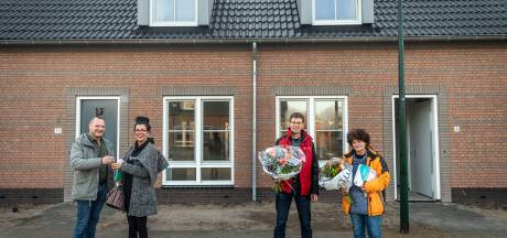 Sleuteloverdracht nieuwe woningen in Nijnsel