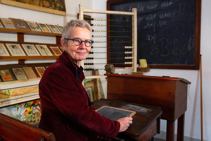 Anne Marijke Lindeijer van de Historische Vereniging Wijhe, die de eerste editie van de Wiehese Dorpsquiz organiseerde.