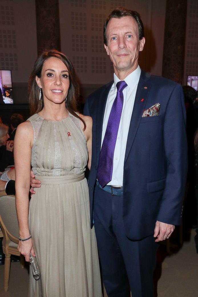 Le prince Joachim de Danemark et la princesse Marie de Danemark