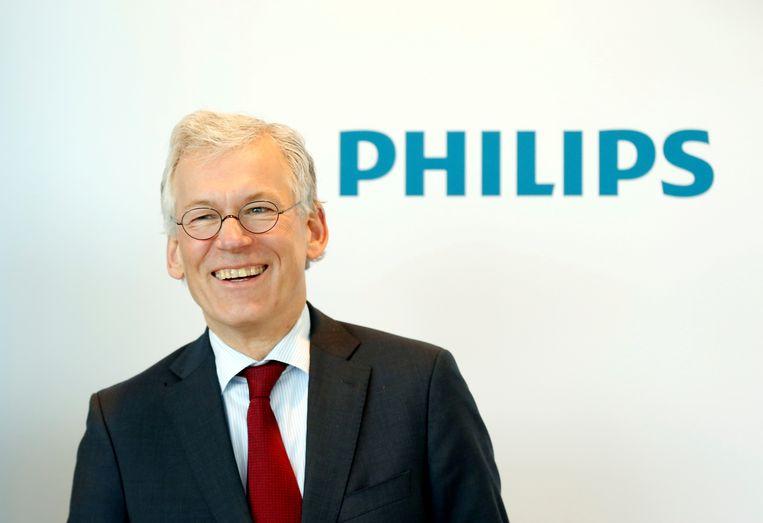 CEO Frans van Houten van Philips.