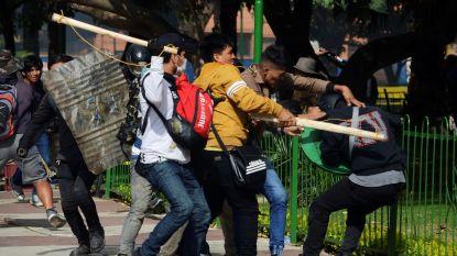 Student is derde dode bij protesten in Bolivia
