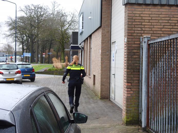 De loods in Helmond.