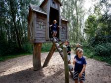 In de natuurspeeltuin bij de Hooge Nesse kunnen kinderen lekker rauzen