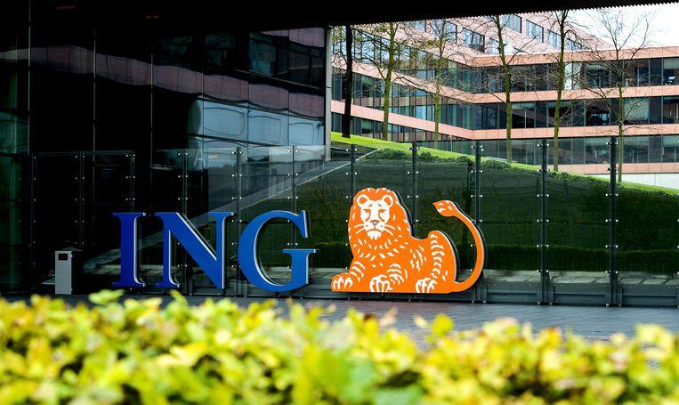 ING maakte vandaag bekend de komende drie jaar 1700 banen te schrappen, onder andere op de ICT-afdelingen. Beeld anp
