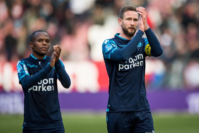 Tim Matavz start in de basis bij Vitesse.