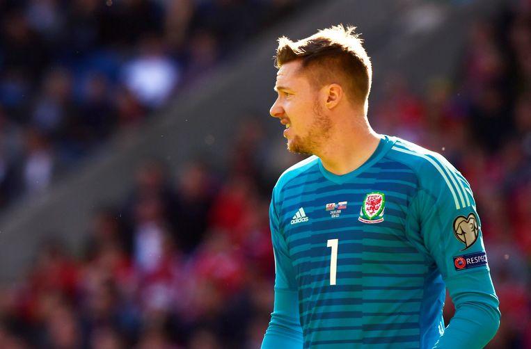 Wayne Hennessey is ook de nationale nummer 1 van Wales.