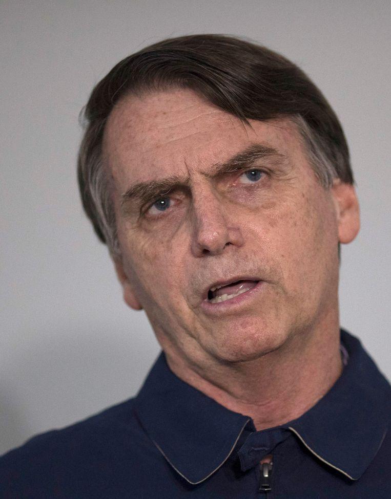 Jair Bolsonaro Beeld AP