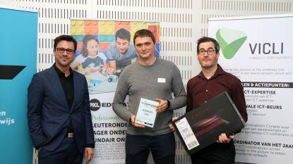 Peltse Jonas Nackaerts is ICT-coördinator van het jaar