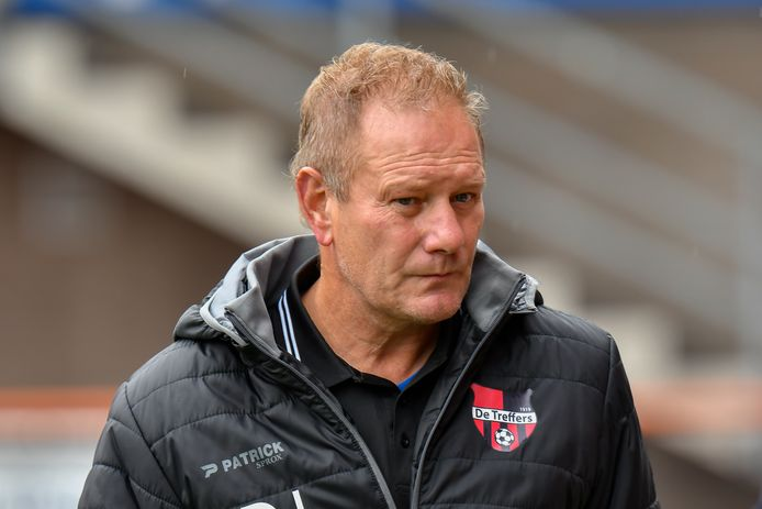 Trainer Jan de Jonge van De Treffers.