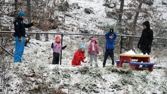 FOTOREPO: eerste sneeuw in regio Leuven