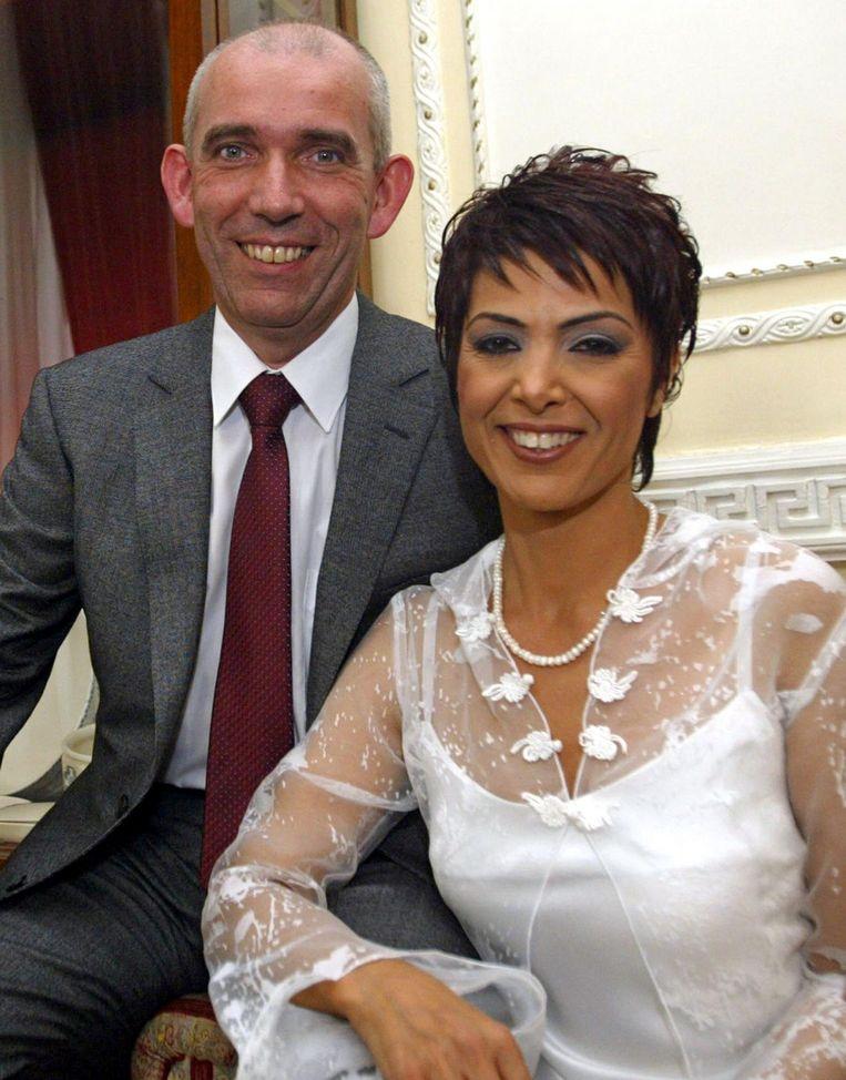 Lagendijk trouwde in 2006 met de Turkse journaliste Nevin Sungur, wat hem bijnaam 'de schoonzoon van Turkije' opleverde. Beeld afp