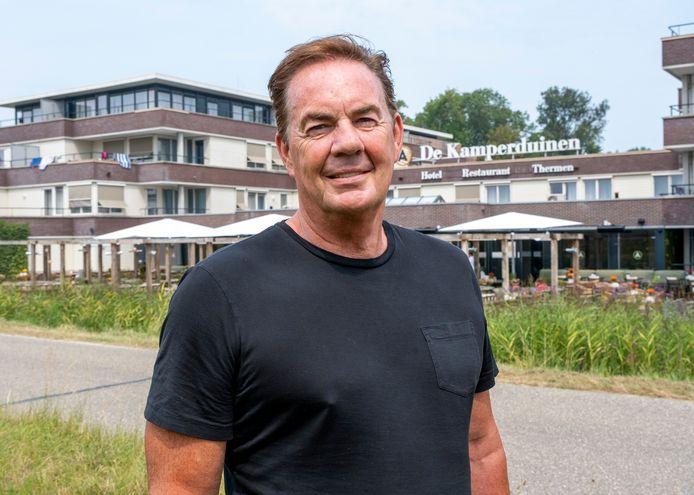 """Jerry van Zuijlen voor hotel De Kamperduinen: ,,We zijn in een ongekende bumpy ride beland."""""""