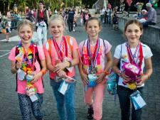 Kinderburgemeester bij finish vierdaagse Bemmel