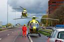 Inzet van de traumahelikopter