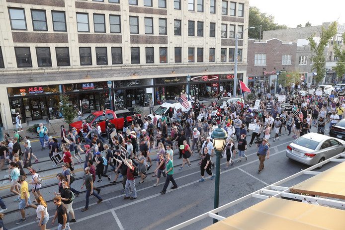 Demonstranten in St. Louis.