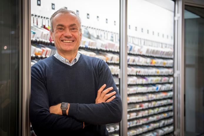 """Apotheker Jan Trooster moet niets hebben van concentratiepillen. """"Er is al teveel misbruik van Ritalin""""."""