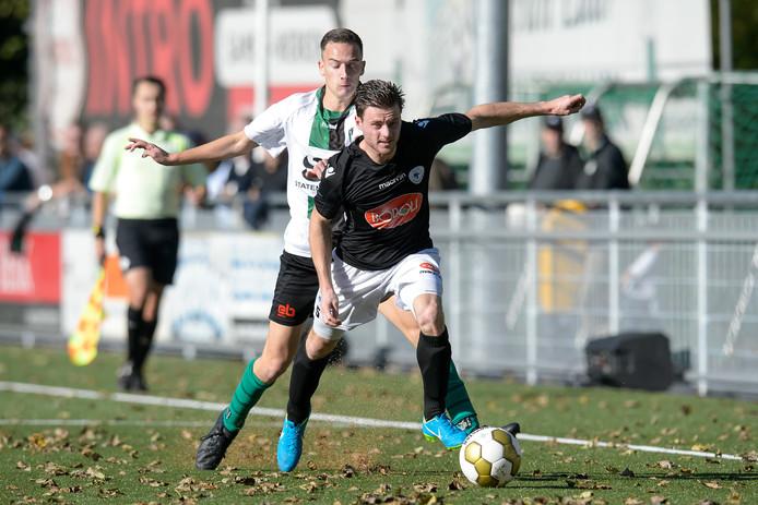 Guido van Rijn speelde voor zijn terugkomst op De Abdijhof twee seizoenen voor Spakenburg.