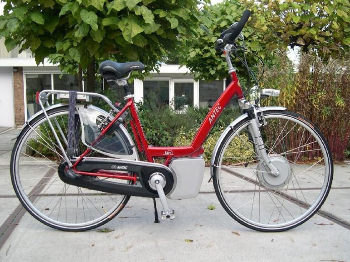 Een voorbeeld van een elektrische fiets.
